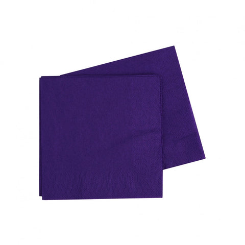 Purple Cocktail Napkins (40 pack)