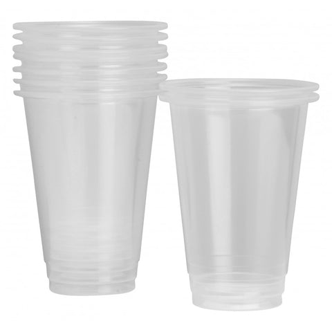 285ml Clear Plastic Cups (50 pack)