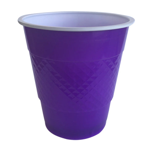Purple Plastic Cups (20 pack)