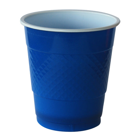 True Blue Plastic Cups (20 pack)