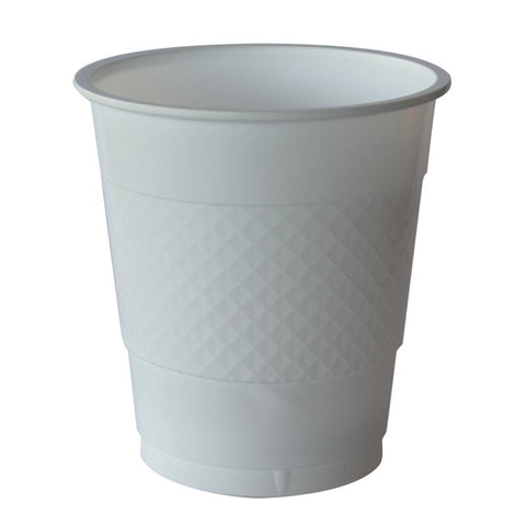 White Plastic Cups (20 pack)