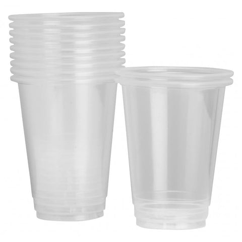 425ml Clear Plastic Cups (50 pack)