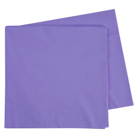 Lilac Dinner Napkins (40 pack)