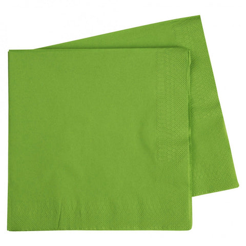 Lime Green Dinner Napkins (40 pack)