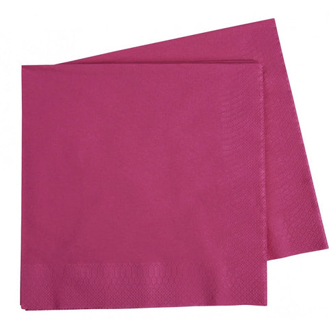 Magenta Dinner Napkins (40 pack)