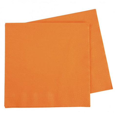 Orange Dinner Napkins (50 pack)