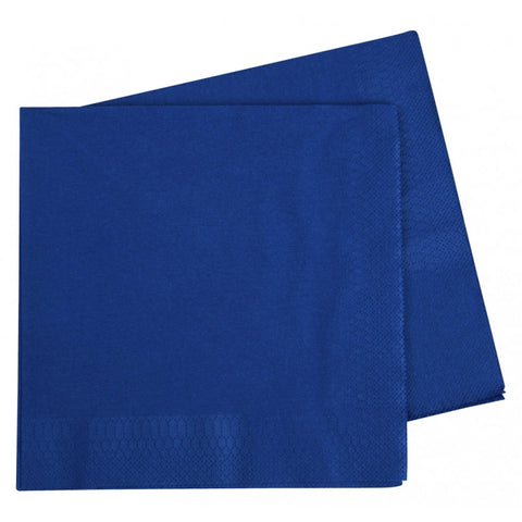True Blue Dinner Napkins (40 pack)