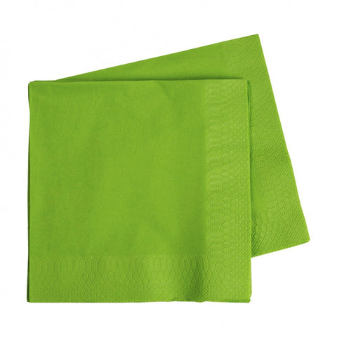 Lime Green Luncheon Napkins (40 pack)
