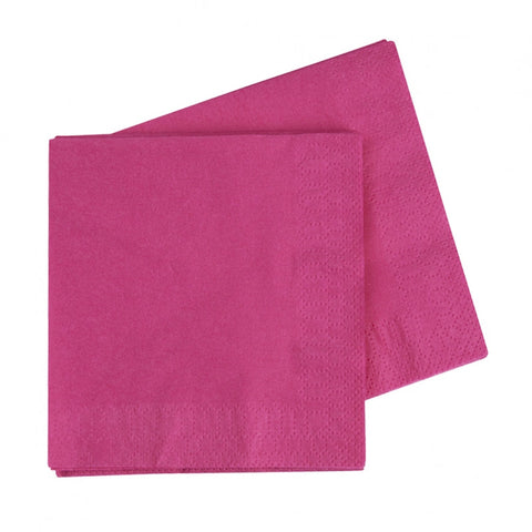 Magenta Luncheon Napkins (40 pack)