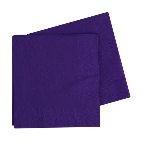 Purple Luncheon Napkins (40 pack)