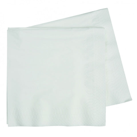 White Luncheon Napkins (40 pack)