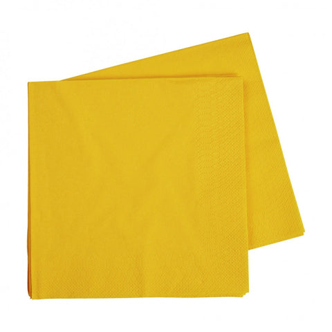 Yellow Luncheon Napkins (40 pack)