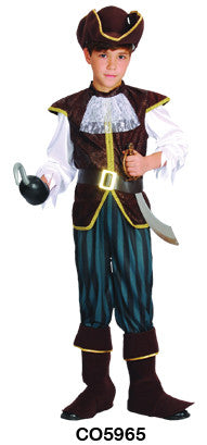 Pirate Captain - Child - Large
