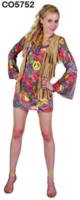 Woodstock Hippie Lady - Large