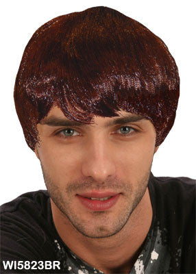 Modern Guy Wig - Brown