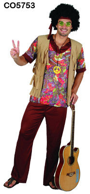 Woodstock Hippie Man - Large