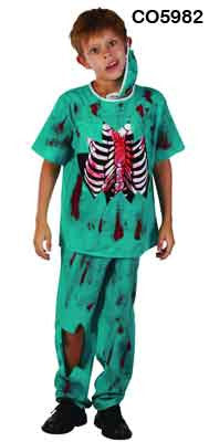 Jnr Zombie Doctor - Child - Large