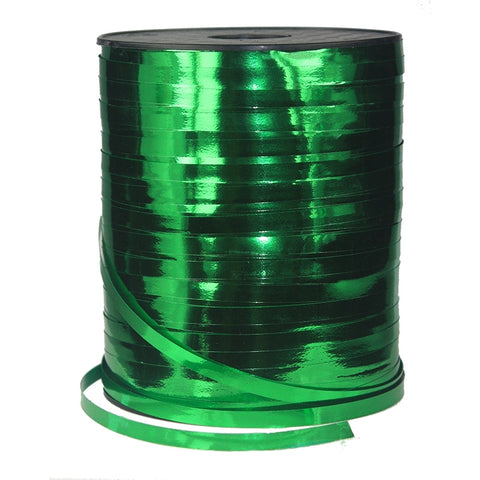 Curling Ribbon (Metallic) 450m - Green
