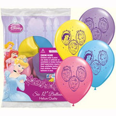 Disney Princess Balloons (6 pack)