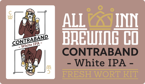 Contraband White IPA - All Inn Brewing Fresh Wort Kit