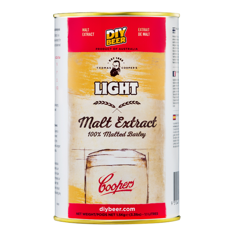 Thomas Coopers Light Malt Extract (1.5KG)