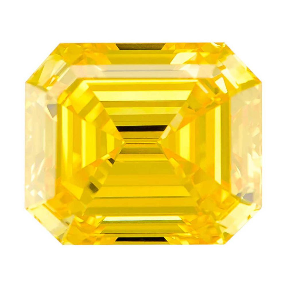 Certified Lab Grown Diamond #900020398 Renaissance 1.08 Ct Vivid Yellow SI1 Clarity Loose Lab Grown Diamond Renaissance Diamonds