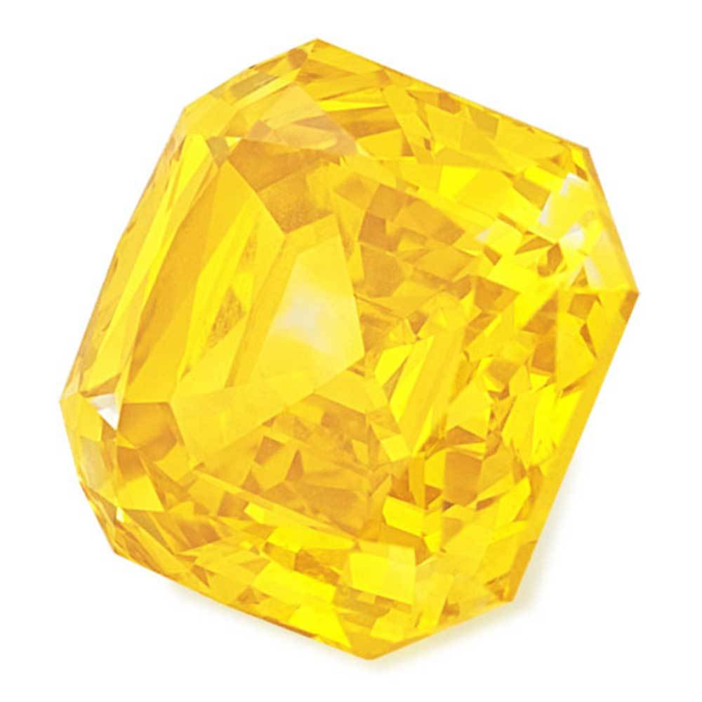 Certified Lab Grown Diamond #900027018 Renaissance Cut 1.12 Ct Vivid Yellow Color VVS2 Clarity Loose Lab Grown Diamond Renaissance Diamonds