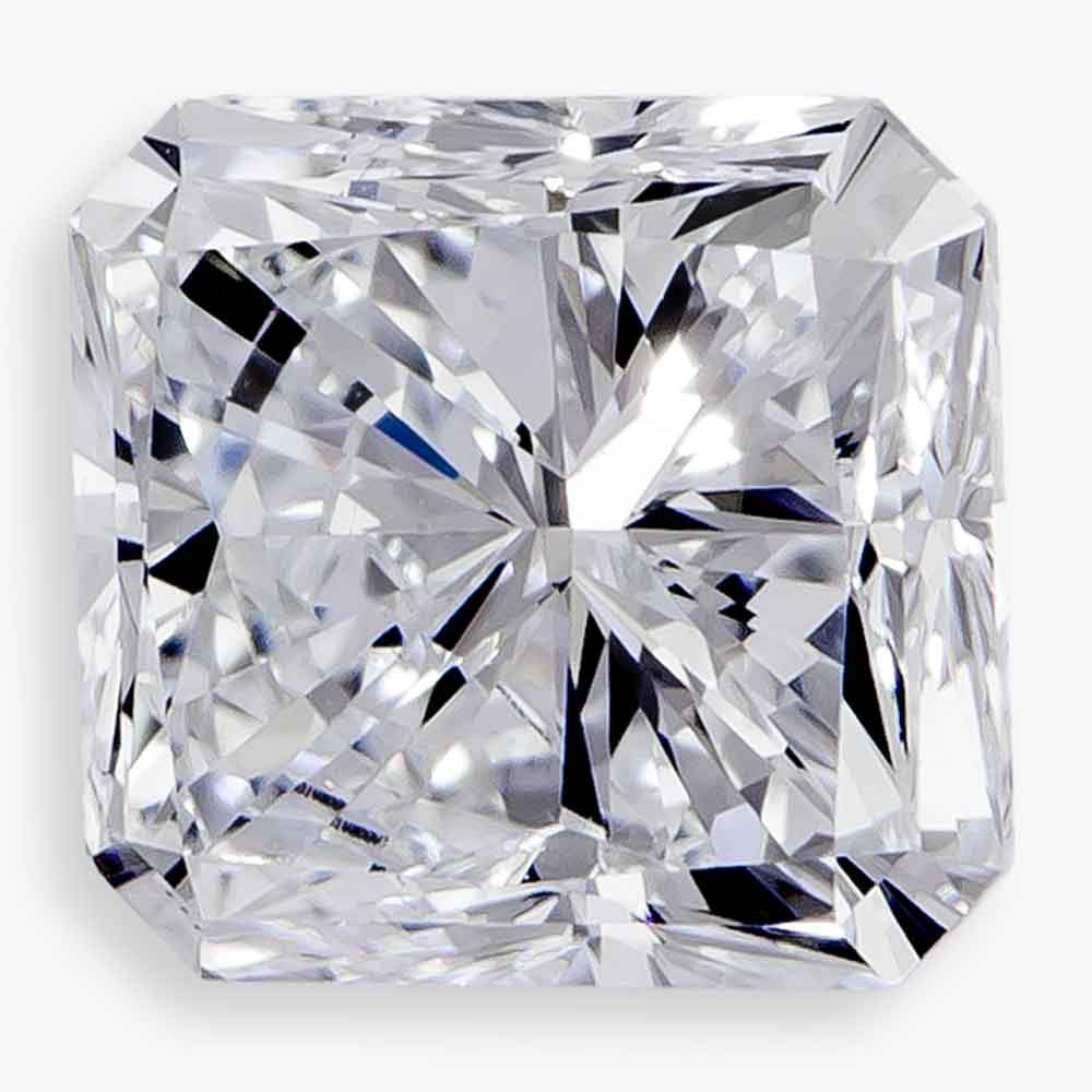 Certified Lab Grown Diamond #930010299 Asscher 1.36 Ct K Color SI2 Clarity Loose Lab Grown Diamond Renaissance Diamonds