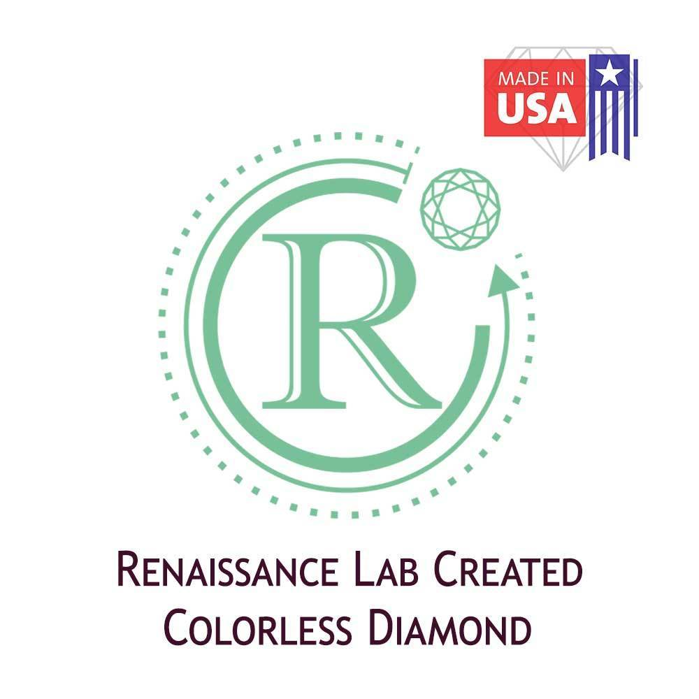 Certified Lab Grown Diamond #971101795 Round 1.50 Ct G Color SI1 Clarity Loose Lab Grown Diamond Renaissance Diamonds