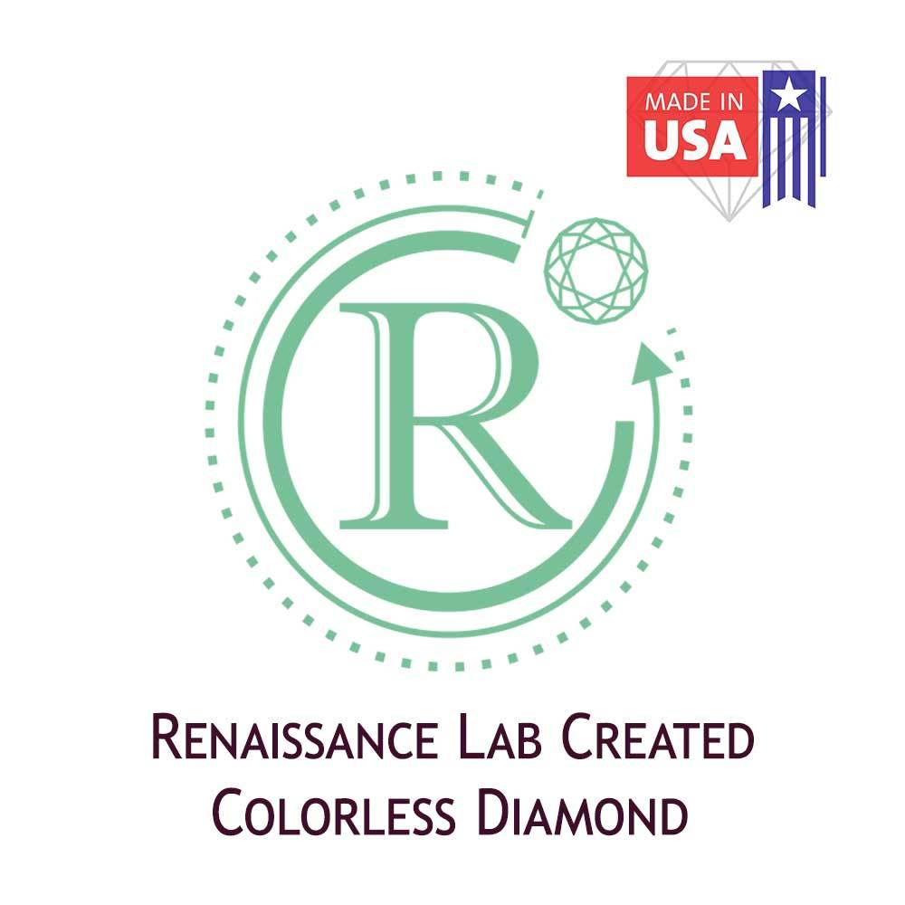 Certified Lab Grown Diamond #971101807 Square Cushion 3.38 Ct J Color VS2 Clarity Loose Lab Grown Diamond Renaissance Diamonds