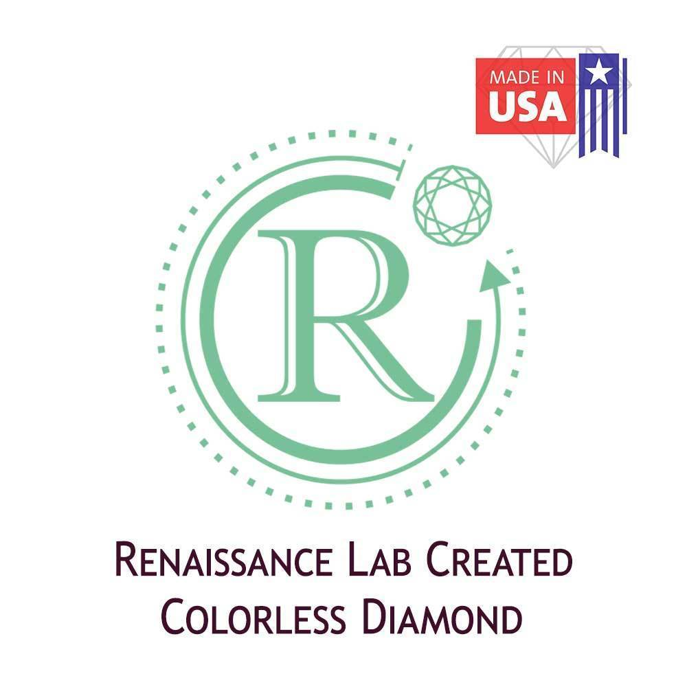 Certified Lab Grown Diamond #971101910 Round 2.60 Ct H Color SI2 Clarity Loose Lab Grown Diamond Renaissance Diamonds