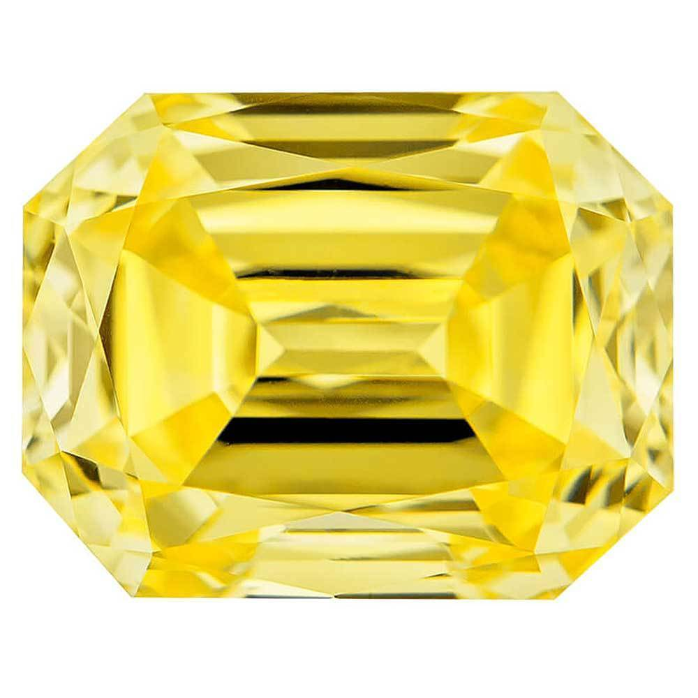Cultured Diamond That Are For Wedding Rings, #900035522 Renaissance Cut, 1.08 Ct, Canary Yellow Color, Vvs1 Clarity Loose Lab Grown Diamond Renaissance Diamonds