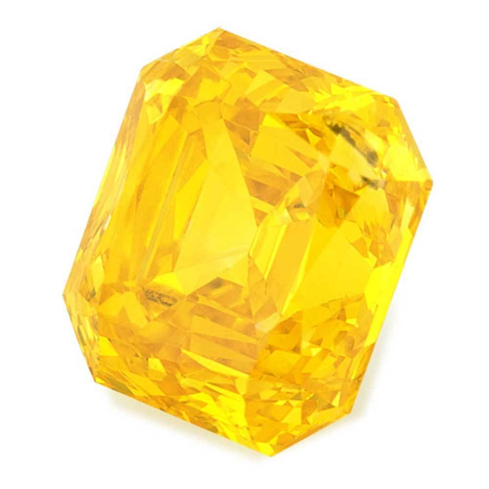 Cultured Diamonds For Beautiful Wedding Rings In Low Cost, #900020729 Renaissance Cut, 1.17 Ct, Vivid Yellow Color, Si2 Clarity Loose Lab Grown Diamond Renaissance Diamonds
