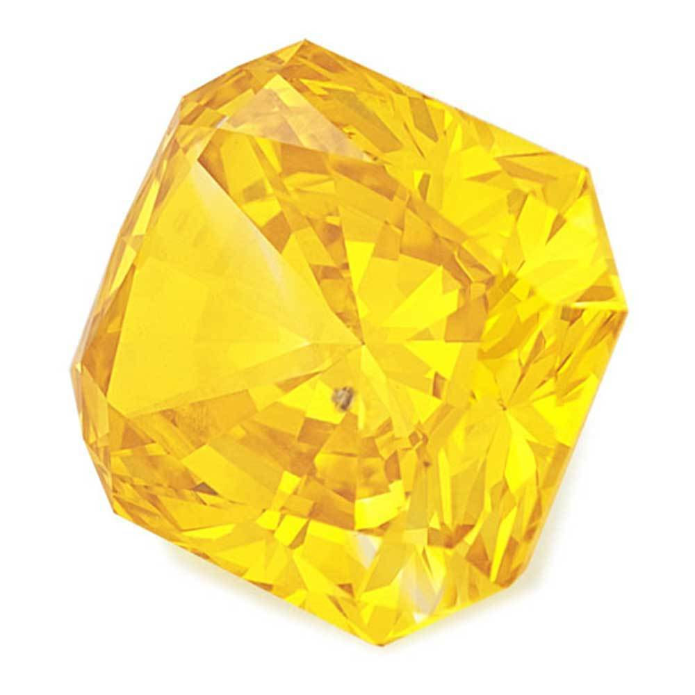 Cvd Diamond, Perfect For Wedding Rings In Affordable Cost, #900027070 Radiant, 1.20 Ct, Canary Yellow Color, Vs1 Clarity Loose Lab Grown Diamond Renaissance Diamonds
