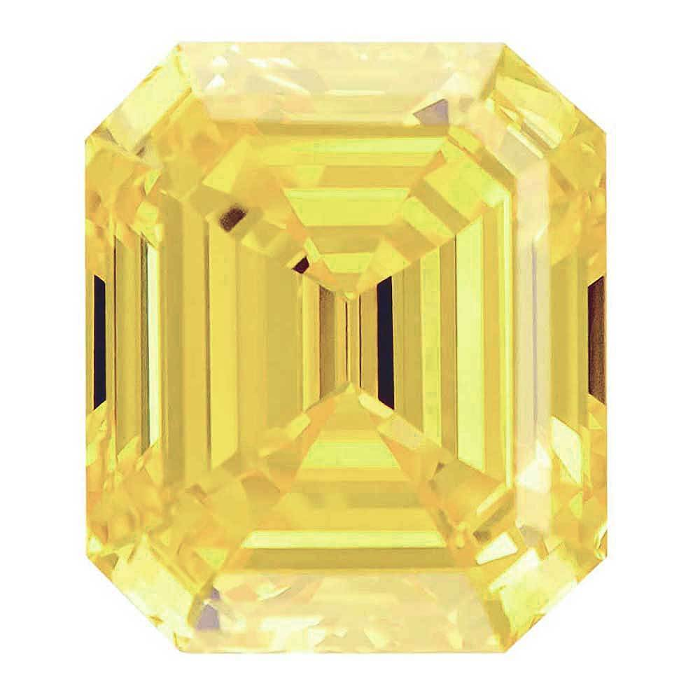 Cvd Diamond That Are Perfect For Beautiful Wedding Ring, #900036004 Renaissance Cut, 1.70 Ct, Canary Yellow Color, Vvs2 Clarity Loose Lab Grown Diamond Renaissance Diamonds