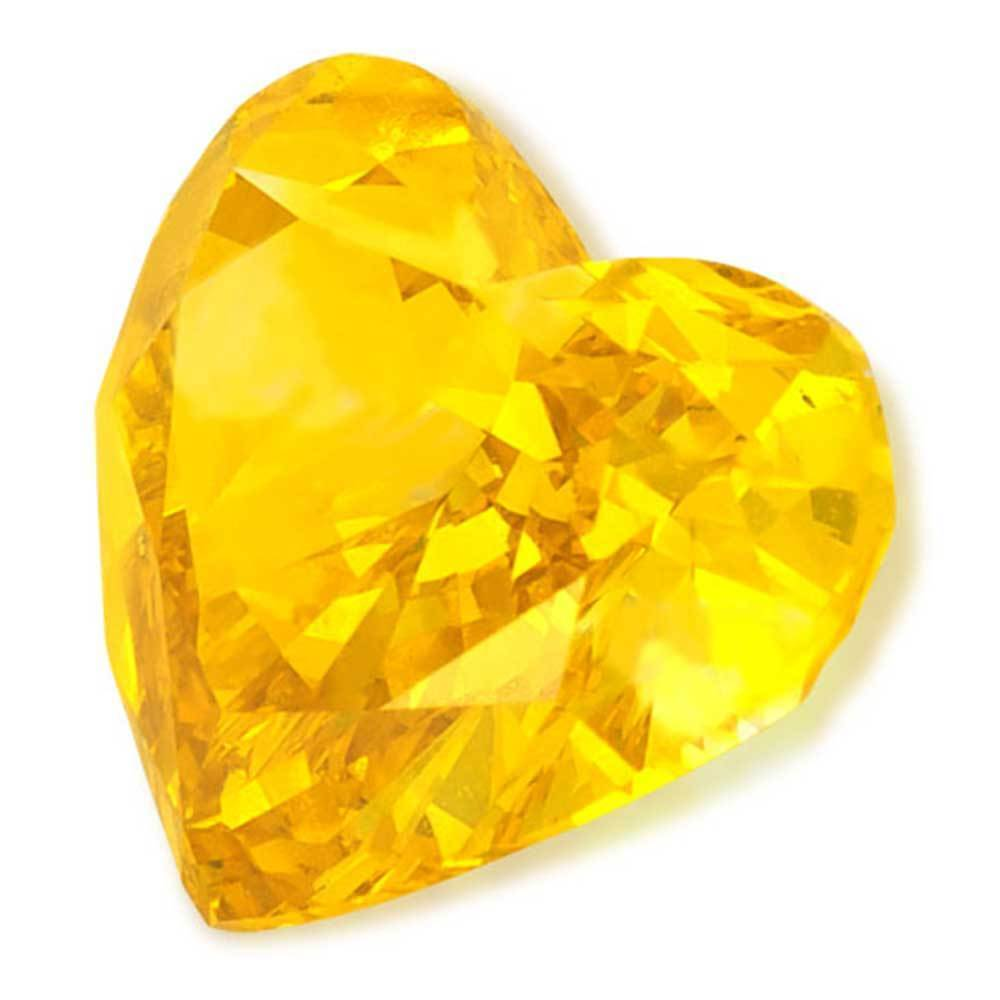 Cvd Diamond That Is Low Costed For Perfect Wedding Rings, #900021356 Heart, 1.20 Ct, Vivid Yellow Color, Vs2 Clarity Loose Lab Grown Diamond Renaissance Diamonds