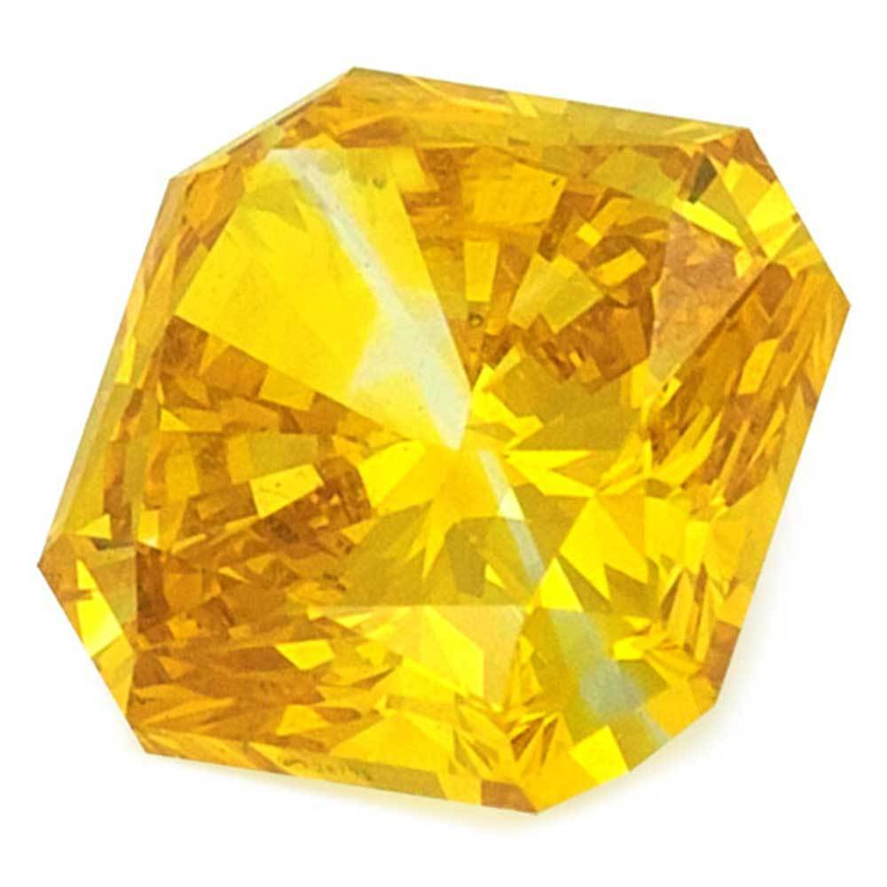 Cvd Diamond Within Your Budget For Beautiful Rings, #900029344 Radiant, 1.07 Ct, Vivid Yellow Color, Vvs2 Clarity Loose Lab Grown Diamond Renaissance Diamonds