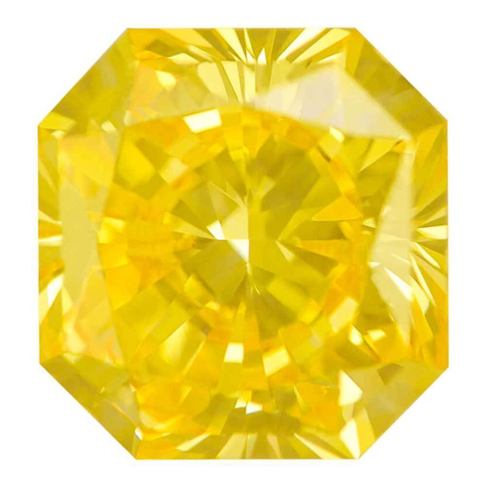 Cvd Diamond Within Your Budget For Wedding Rings, #900027821 Radiant, 1.31 Ct, Canary Yellow Color, Vs1 Clarity Loose Lab Grown Diamond Renaissance Diamonds