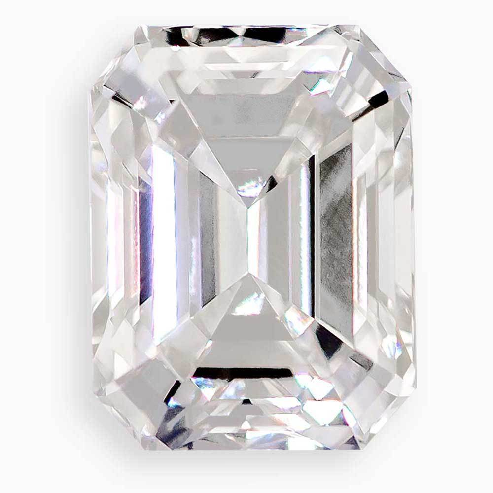 Different Types Of Diamond Cuts That Are For Engagement Rings, #930010996 Emerald Cut, 1.12 Ct, Off Color , Vs2 Clarity Loose Lab Grown Diamond Renaissance Diamonds