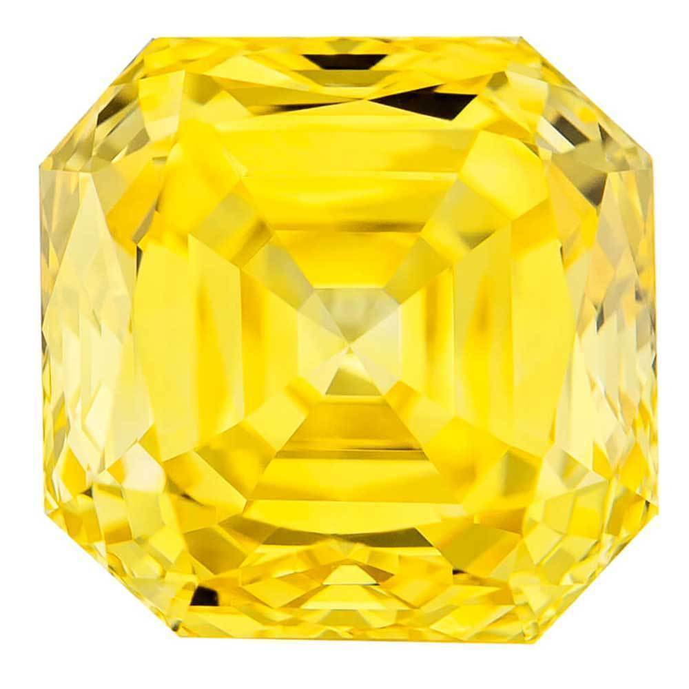 Fake Diamonds For Beautiful Wedding Rings In Affordable Cost, #900020867 Renaissance Cut, 1.56 Ct, Canary Yellow Color, Vs2 Clarity Loose Lab Grown Diamond Renaissance Diamonds