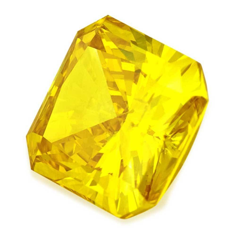 Fake Diamonds That Are Economical For Beautiful Rings, #900026746 Radiant, 0.93 Ct, Vivid Yellow Color, Si2 Clarity Loose Lab Grown Diamond Renaissance Diamonds