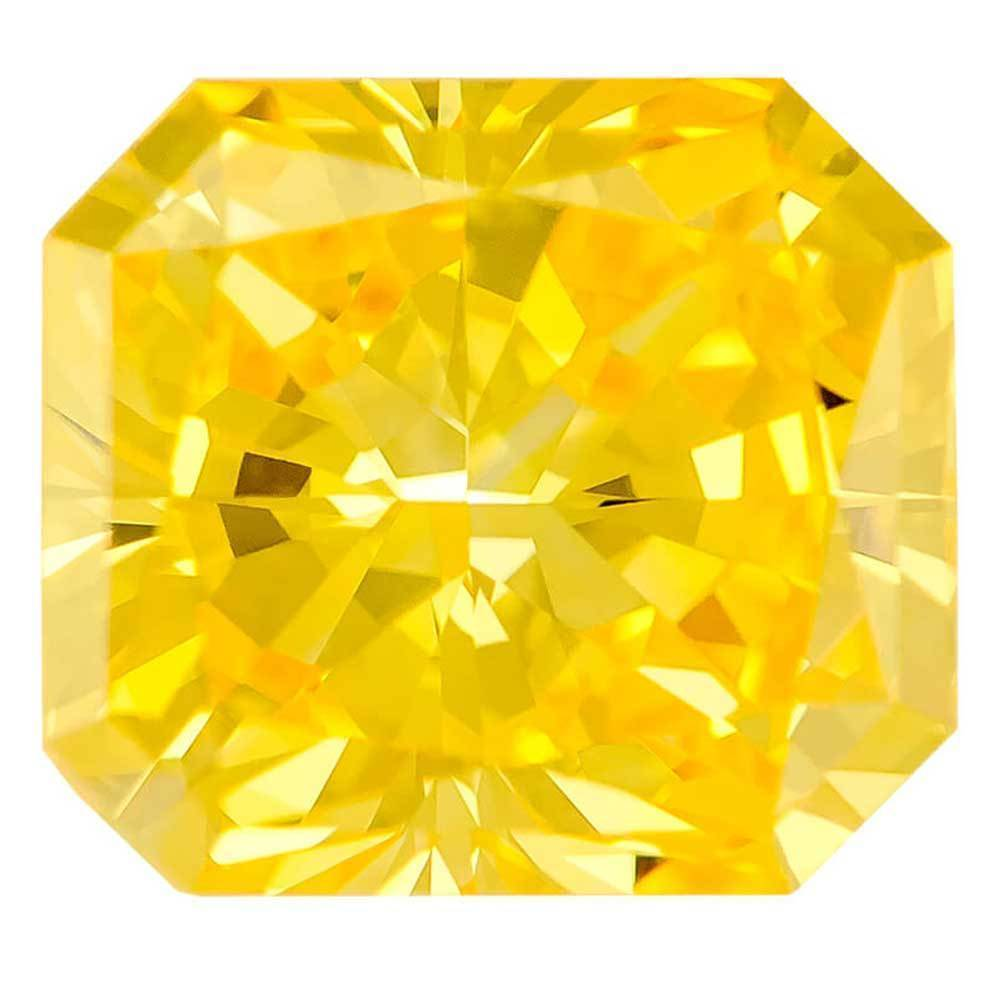 Fake Diamonds That Are Perfect For Rings In Your Budget, #900028649 Radiant, 1.95 Ct, Canary Yellow Color, Vvs2 Clarity Loose Lab Grown Diamond Renaissance Diamonds