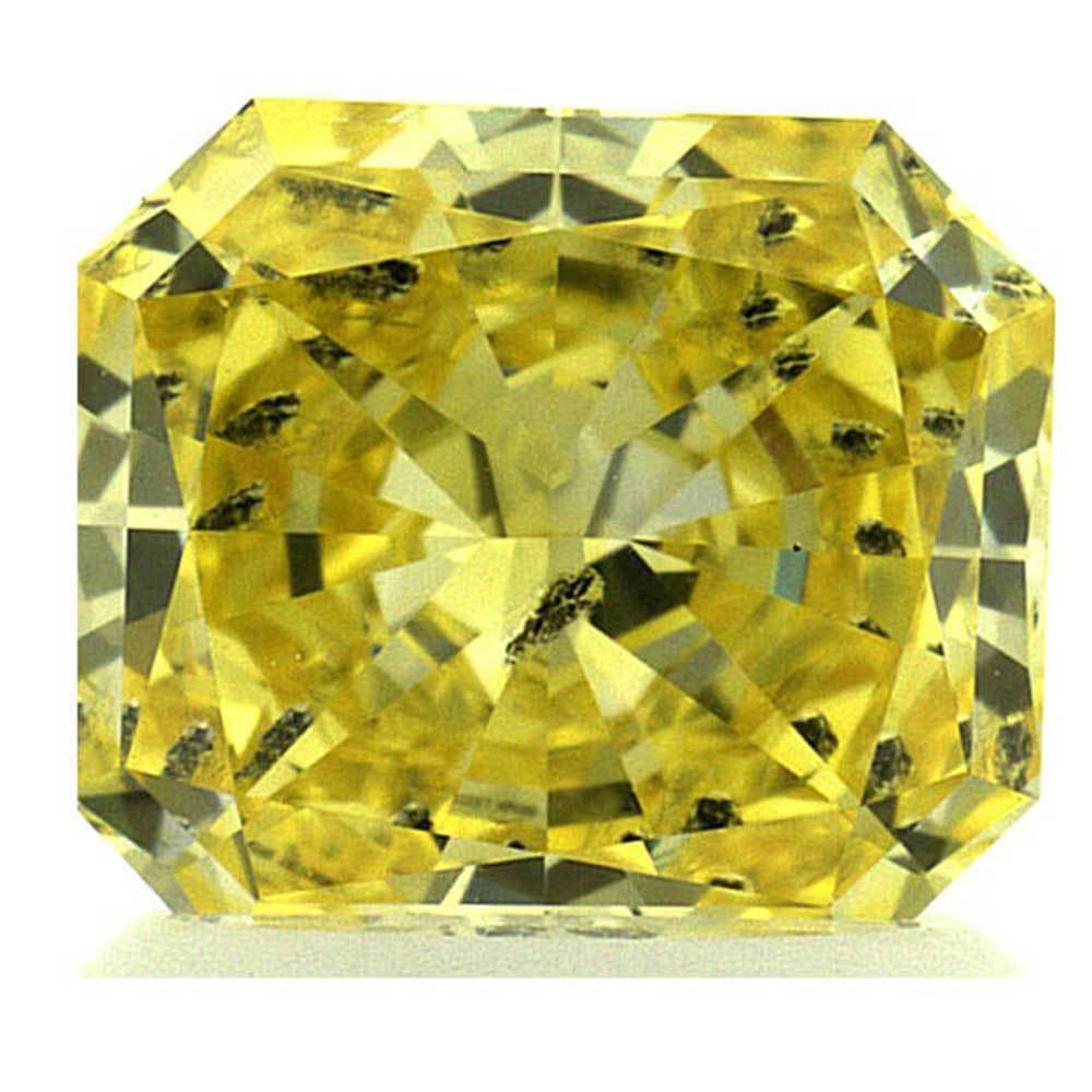 Lab Created Diamonds Within Your Range For Wedding Rings, #900028731 Radiant, 1.30 Ct, Vivid Yellow Color, Si2 Clarity Loose Lab Grown Diamond Renaissance Diamonds