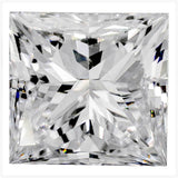 Lab Grown Diamonds In Low Cost For Wedding Rings, #930011007 Princess, 0.92 Ct, Off Color , Vs2 Clarity Loose Lab Grown Diamond Renaissance Diamonds
