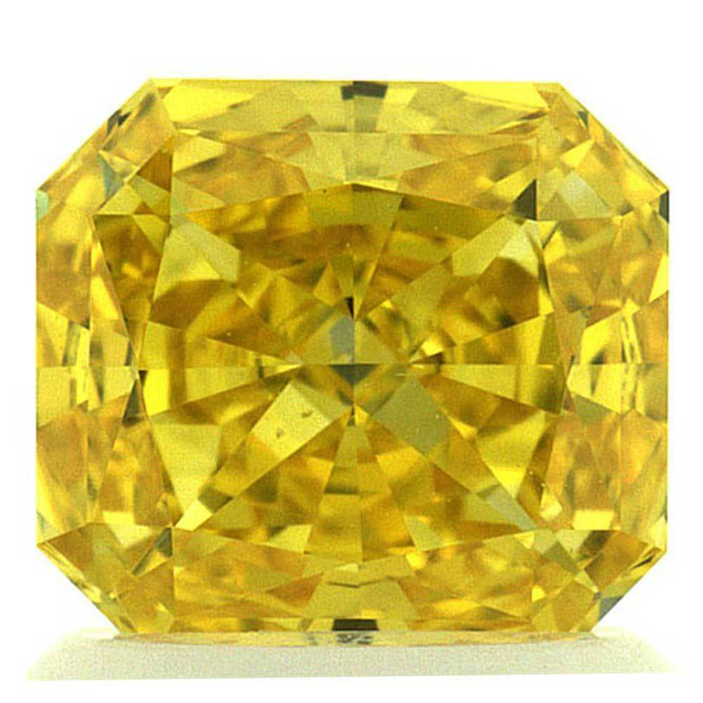 Lab Grown Diamonds That Are In Your Range For Rings, #900029640 Radiant, 1.33 Ct, Canary Yellow Color, Vs2 Clarity Loose Lab Grown Diamond Renaissance Diamonds