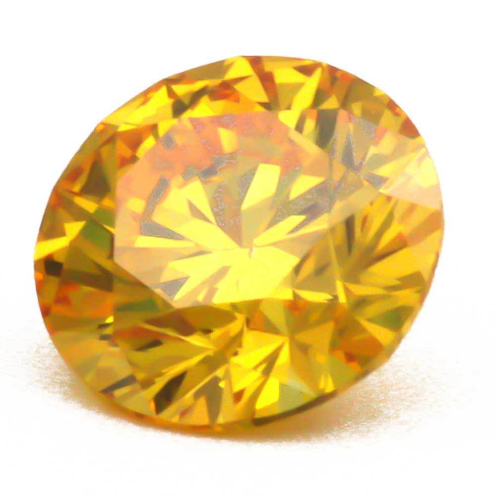 Lab Grown Diamonds That Are Within Your Budget For Rings, #900034351 Round, 0.88 Ct, Vivid Yellow Color, Vvs1 Clarity Loose Lab Grown Diamond Renaissance Diamonds