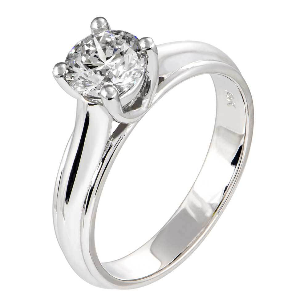Lucern Trellis Design Engagement Ring With Colorless Lab Grown Diamond Loose Lab Grown Diamond Renaissance Diamonds