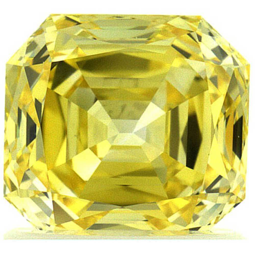 Man Made Diamonds For Beautiful Engagement Rings In Low Cost, #900024838 Radiant, 1.28 Ct, Canary Yellow Color, Vvs2 Clarity Loose Lab Grown Diamond Renaissance Diamonds