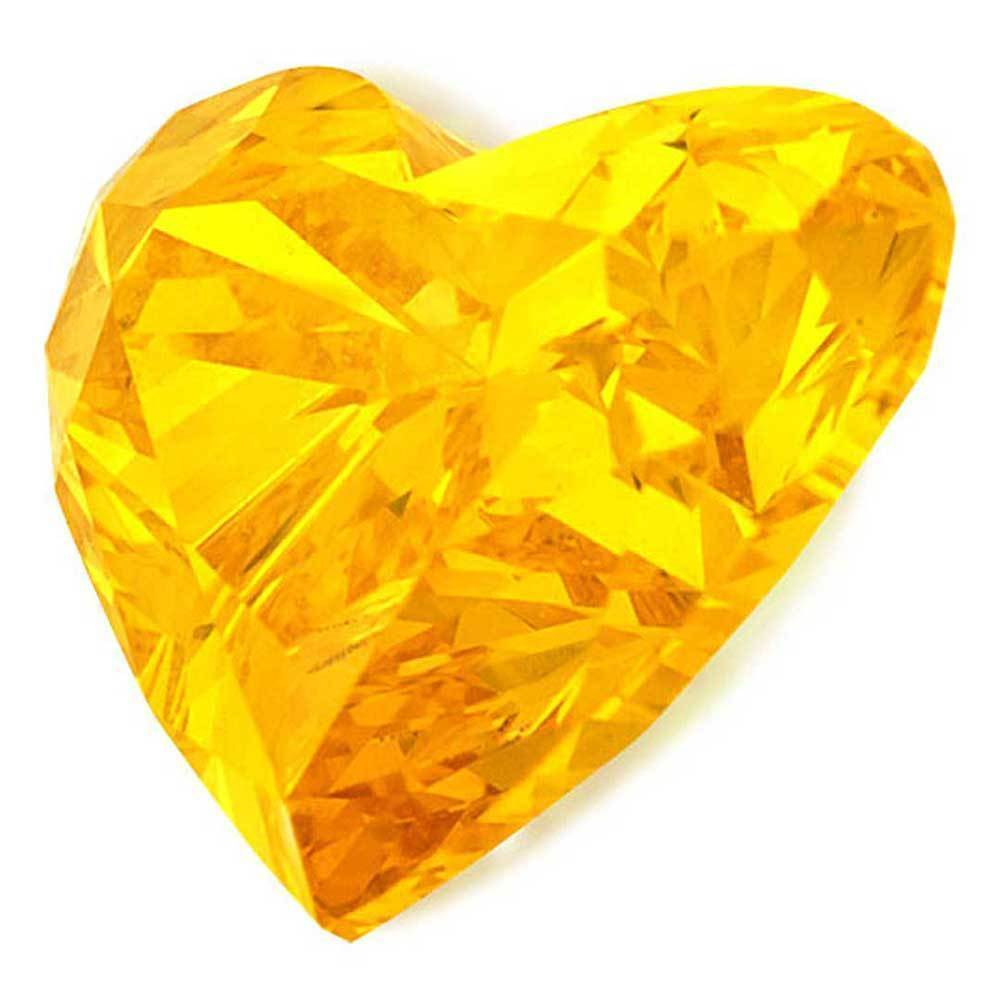 Man Made Diamonds For Wedding Rings In Affordable Price, #900020981 Heart, 1.06 Ct, Vivid Yellow Color, Vvs2 Clarity Loose Lab Grown Diamond Renaissance Diamonds
