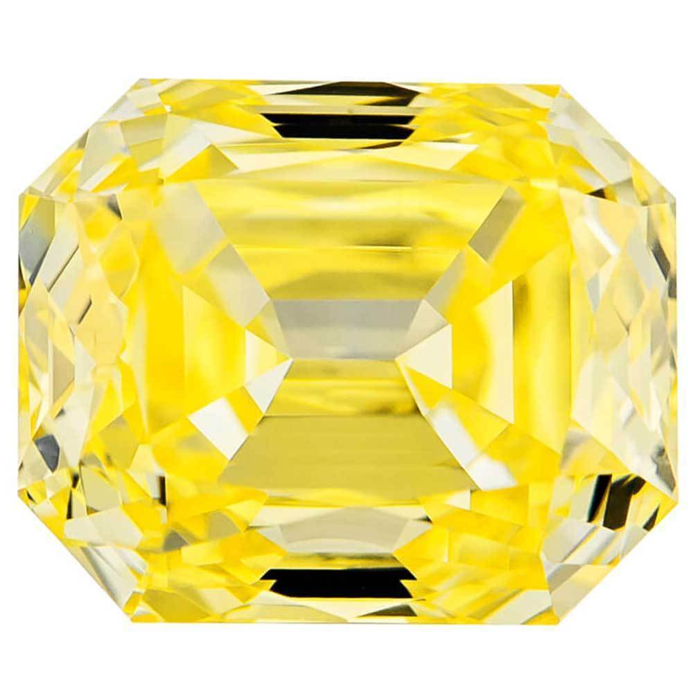 Man Made Diamonds In Affordable Price For Rings, #900021207 Renaissance Cut, 1.04 Ct, Vivid Yellow Color, Vvs2 Clarity Loose Lab Grown Diamond Renaissance Diamonds